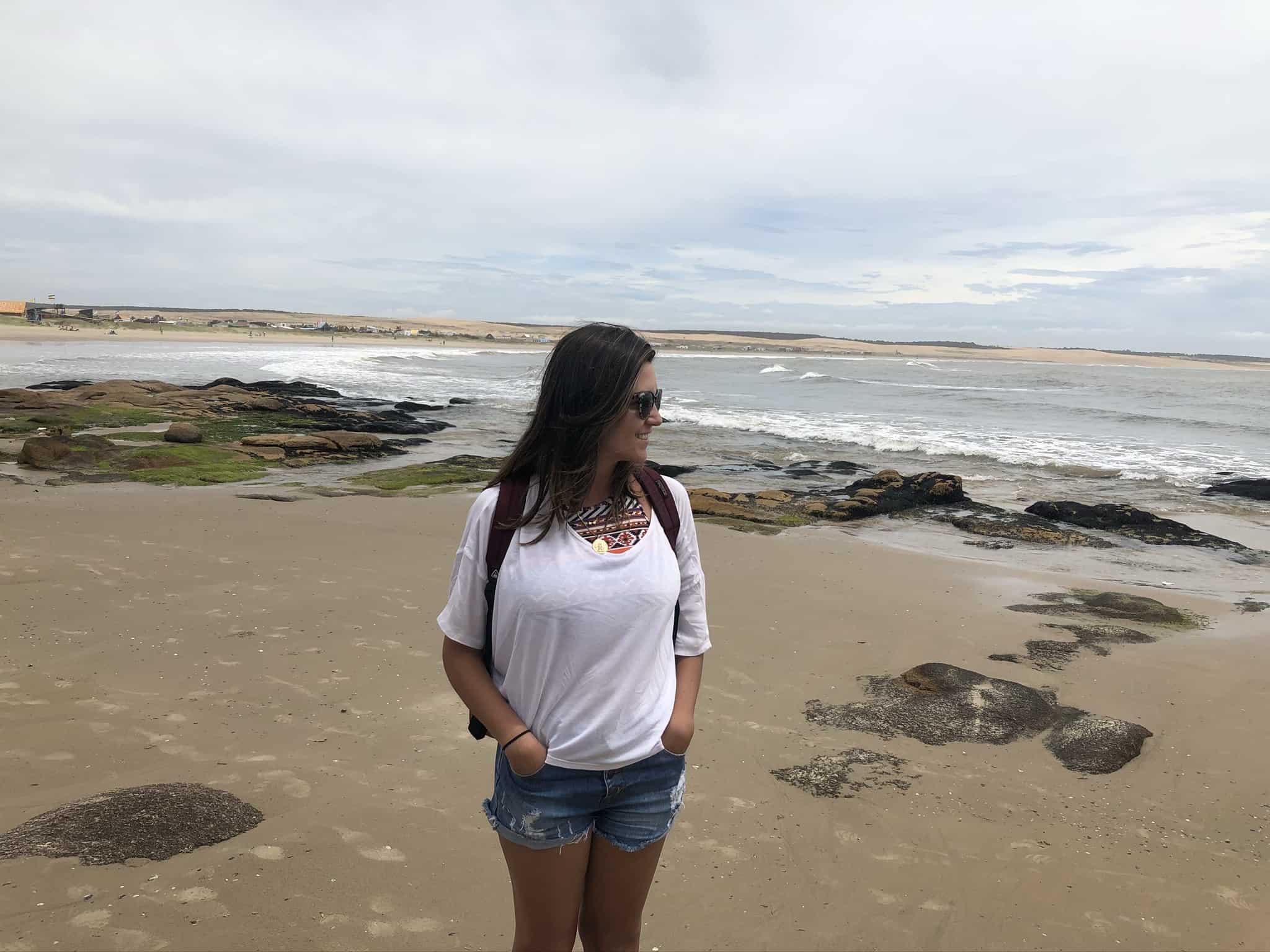 Playa Norte em Cabo Polônio