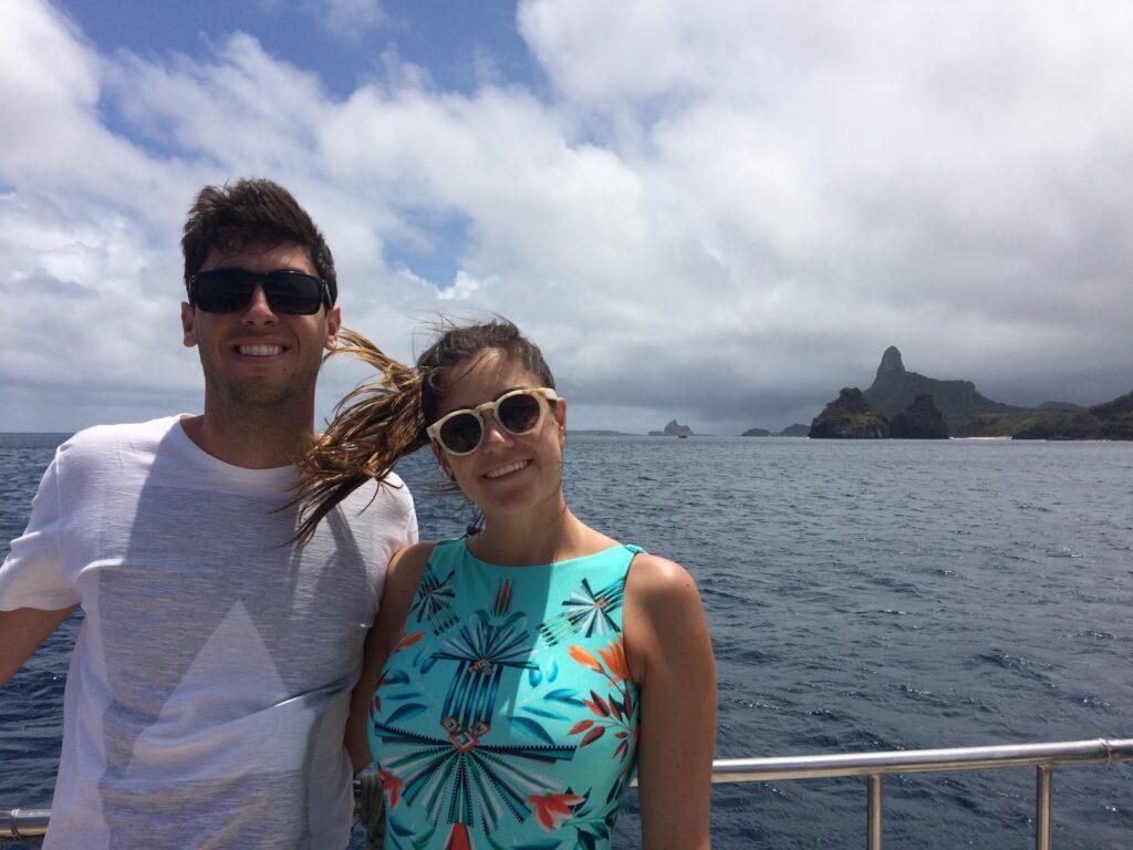 Passeio de barco em Fernando Noronha