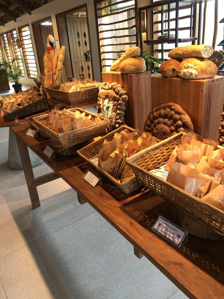 Café da manhã no Club Med Trancoso