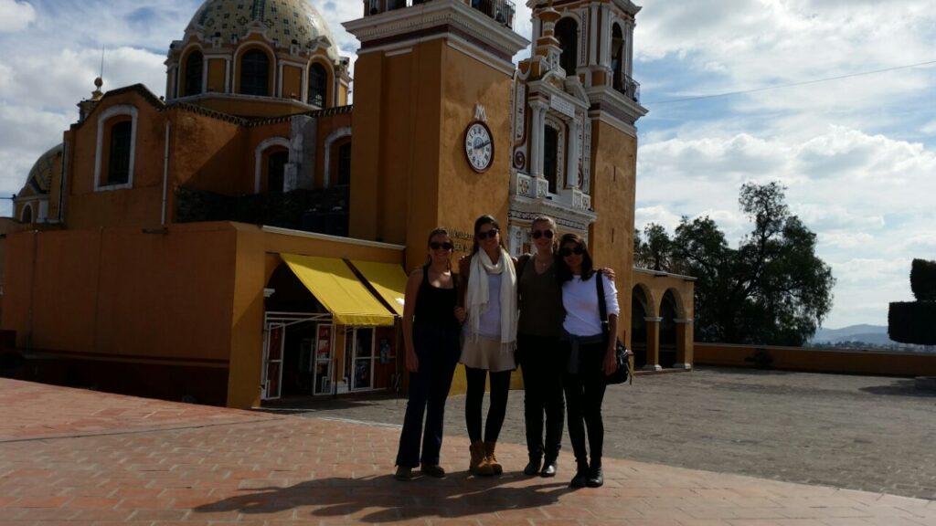 No vilarejo fofo de Puebla